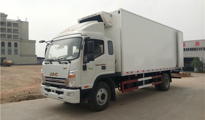 江淮帅铃6米8/7米6冷藏车