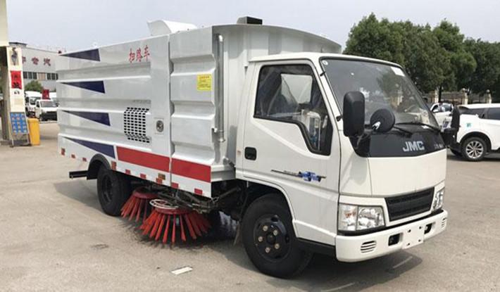 江铃扫路车(1.5水4尘)技术参数价格
