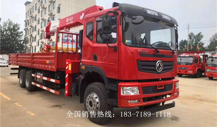 东风T5后八轮长兴12吨随车吊配置参数